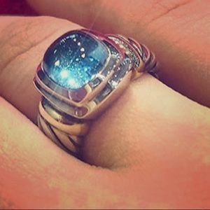 David Yurman Noblesse Blue Topaz Ribg